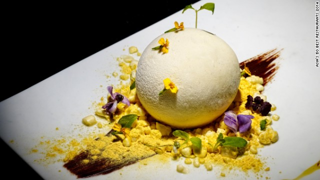 "Indian food redefined with modernist techniques -- experimental, adventurous and fun. Gaggan Anand's inventively named dishes include ""Green with Envy,"" in which green peppercorn chicken kebabs are combined with coriander foam."