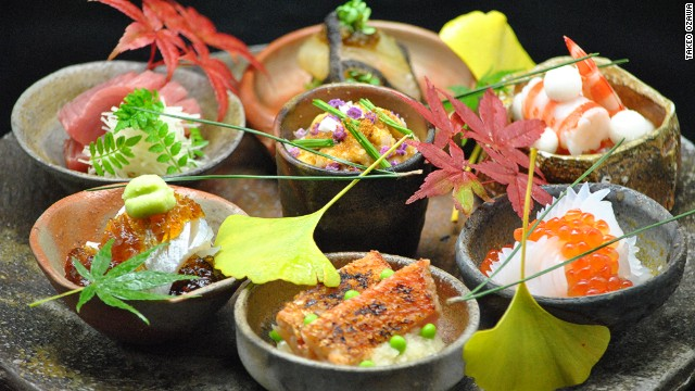 Seiji Yamamoto's food combines indigenous ingredients with the precise techniques Japanese chefs have honed over centuries. The menu at this fabled Roppongi destination changes daily.