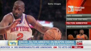 Raymond Felton arrested on gun charges