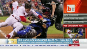 MLB makes new home plate collision rules