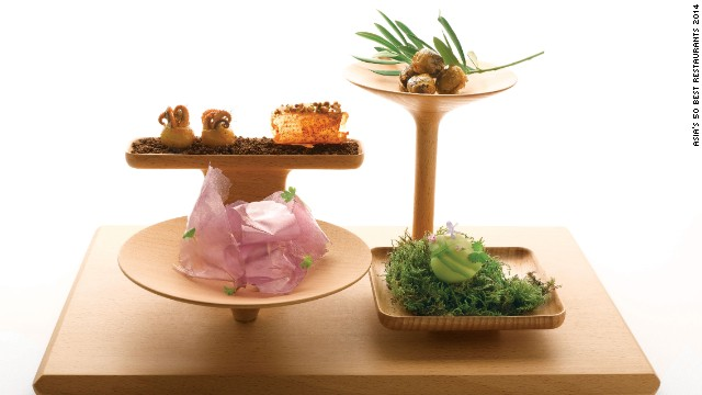 Art and philosophy are the guiding principles behind the gastronomy of André Chiang, also voted the winner of this year's Chefs' Choice Award by his peers.