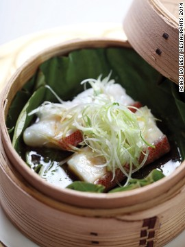 Hong Kong's most revered Cantonese restaurant is helmed by Chan Yan Tak, the first Chinese chef to earn three Michelin stars, and renowned for valuing texture as much as flavor.