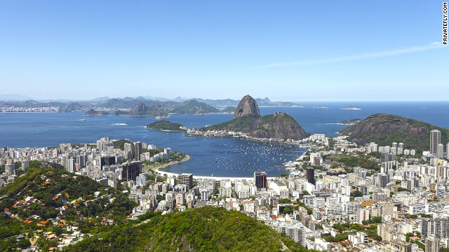 """The most incredible approach, with views of Guanabara Bay,"" says a PrivateFly.com voter."