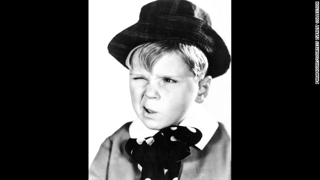 "Jackie Cooper, who grew up to have a long acting and directing career, was 9 when he was nominated for best actor for 1931's ""Skippy."""