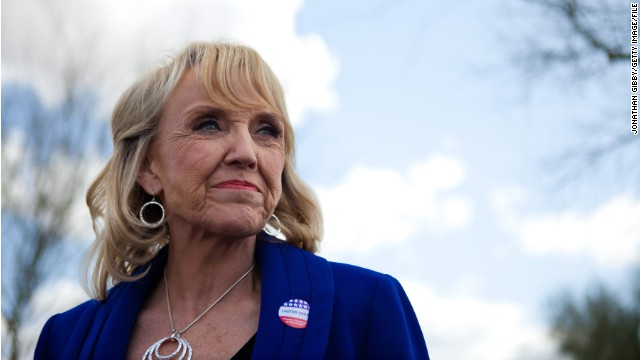 Arizona Gov. Jan Brewer won't seek reelection