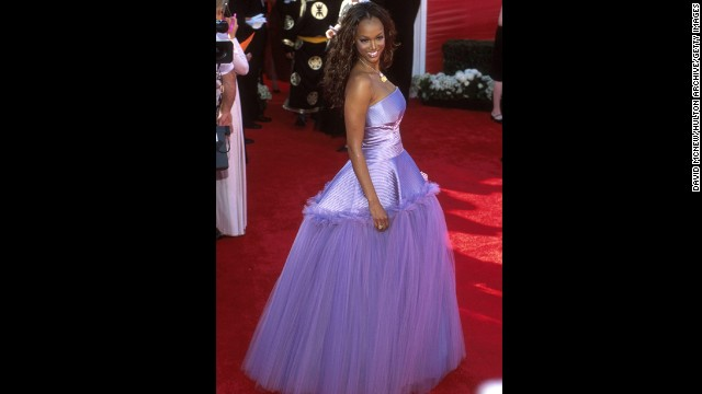 We've waited years to find out which prom-bound teen Tyra Banks stole this frock from before going to the 2000 Academy Awards.