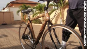 Bamboo bikes step up a gear
