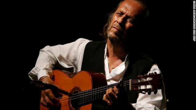 Spanish guitarist Paco de Lucia, seen here in 2006, died February 25 of an apparent heart attack. He was 66. De Lucia transformed the folk art of flamenco music into a more vibrant modern sound.