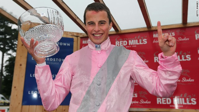 Her jockey is William Buick, born in Norway to Scottish and Danish parents.