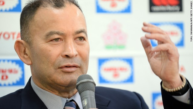 The national side is under the tutelage of Eddie Jones, the former Australia international coach who has a Japanese mother.
