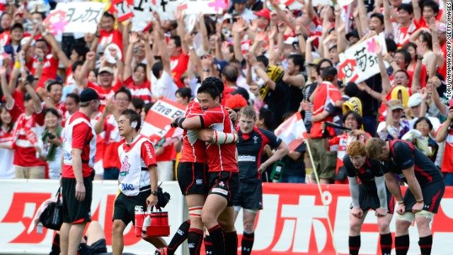 Japan has endured mixed results on the international stage but celebrated victory over Wales last year, the team's first victory in 80 years over a major rugby nation.