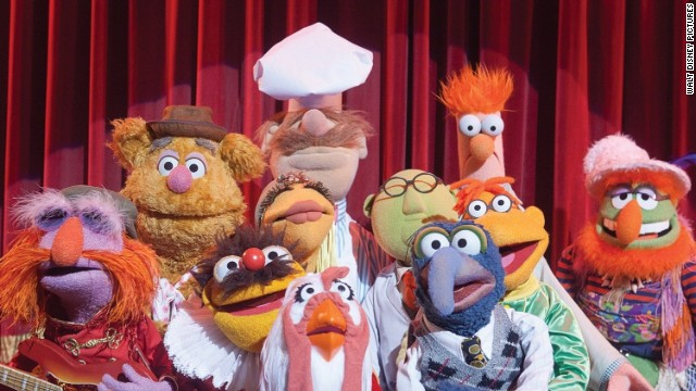 The Muppets head to Europe in 2014's