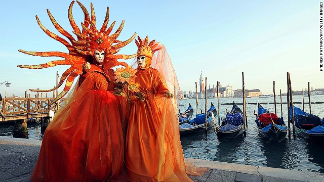 "Walmart, Target and other major retailers now sell ""Venetian masks"", which are not actually made in Venice. ""Those who want to buy mass-produced plastic should not come to us,"" says Gimenez, whose masks can cost more than 200 euros each. ""Our customers receive something original and unique, created by artisans with passion and love."""