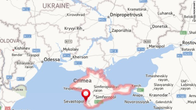 Map of Crimea -- click to expand