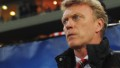 Manchester United manager David Moyes looks on before the UEFA Champions League Round of 16 first leg match between Olympiacos FC and Manchester United at Karaiskakis Stadium on February 25, 2014 in Piraeus, Greece.
