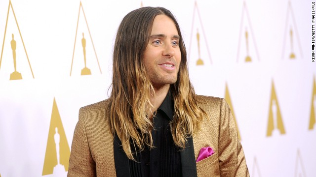 Jared Leto's Oscar plans: Mom as date, maybe wet hair