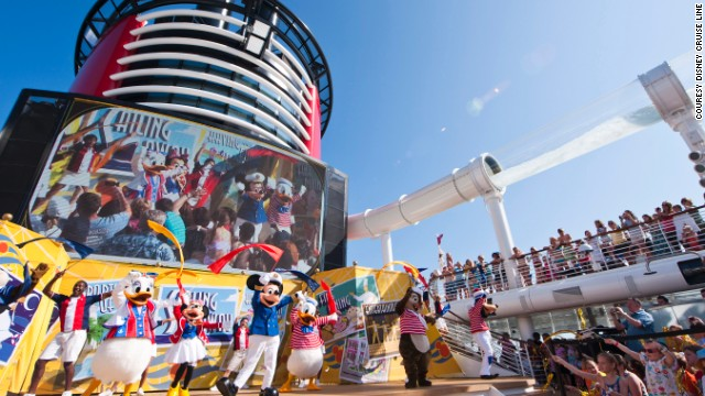 Who's surprised that Disney Fantasy won the Best for families award, a category not broken down by ship size? Not Mickey or Minnie!