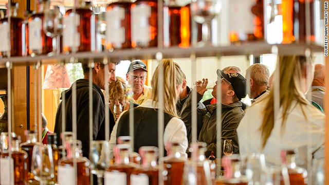 """We have five whiskey bars now -- two in Brisbane, one each in Sydney, Melbourne and Hobart, and we'll open a new one in London soon,"" says Nant owner Keith Batt. ""My goal in five years is to have 70 bars around the world."""