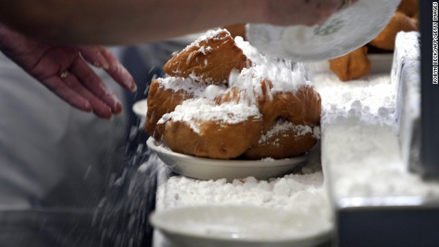 No doubt that Cafe du Monde is one of the most popular tourist spots in the city, and there's good reason: those beignets (and the coffee). Bite into one and get covered in powdered sugar.