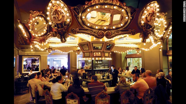 Order a Sazerac at an old school hotel bar like the one at the Monteleone Hotel.