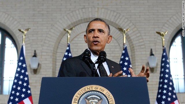 Obama pushes infrastructure investment during Minnesota trip
