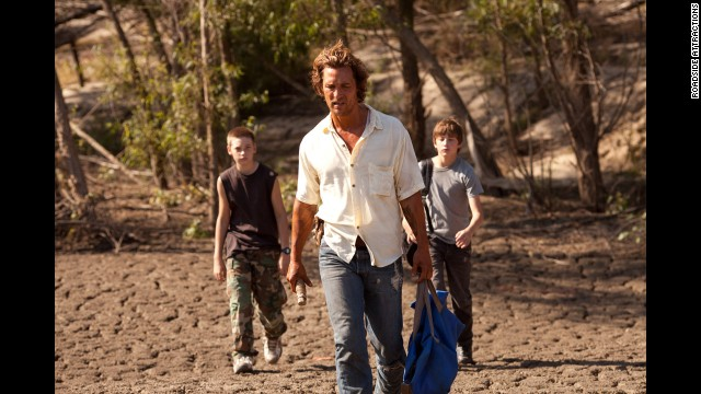 "McConaughey played a fugitive in the coming-of-age drama ""Mud"" in 2012."