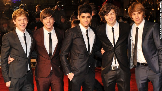 Tomlinson is one fifth of the biggest boy band on the planet -- One Direction. Formed out of talent show The X-Factor, and managed by music mogul Simon Cowell, they are the only UK band to have had their first two albums reach No.1 in the U.S and have a combined 98 million followers on Twitter.
