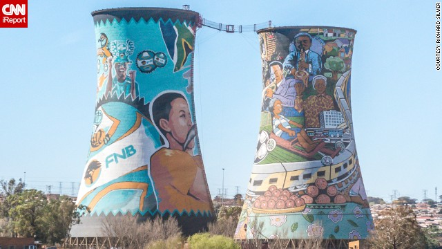 The Orlando Towers draw adventure enthusiasts to Johannesburg's Soweto neighborhood to test their courage on the bungee jump. See more photos of Johannesburg on CNN iReport.