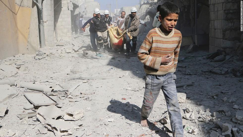 La guerra civil en Siria en 2014