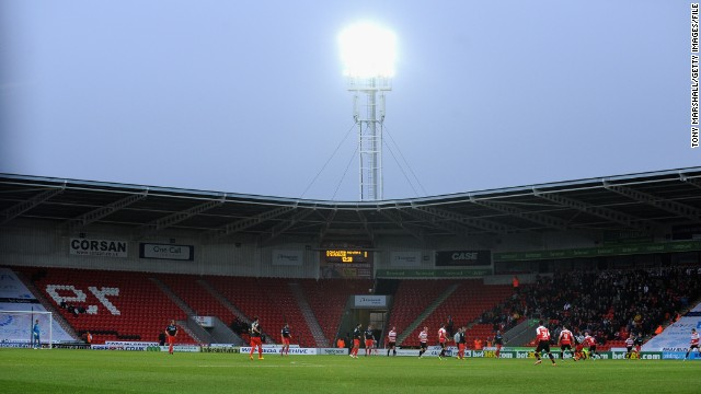Tomlinson signed a deal with Doncaster last August but due to his One Direction commitments, had to wait to make his debut. Around 5,000 fans packed the Keepmoat Stadium for the reserve team match, while regular reserve team matches only attract a handful of diehard supporters.