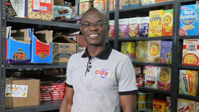Olumide Olusanya, founder of Gloo.ng, hopes he can grow his online supermarket brand across Nigeria.