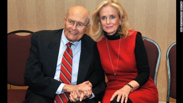 Debbie Dingell announced Friday, February 28, that she would run for the seat held for 58 years by her husband, Rep. John Dingell, D-Michigan, who announced earlier that he was retiring. Click through the images for other American political families.