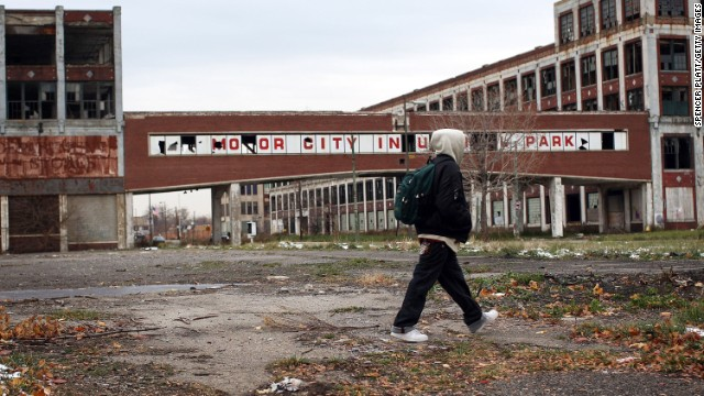 No city in the United States exemplifies the problems of a stagnant or declining local economy as does Detroit.