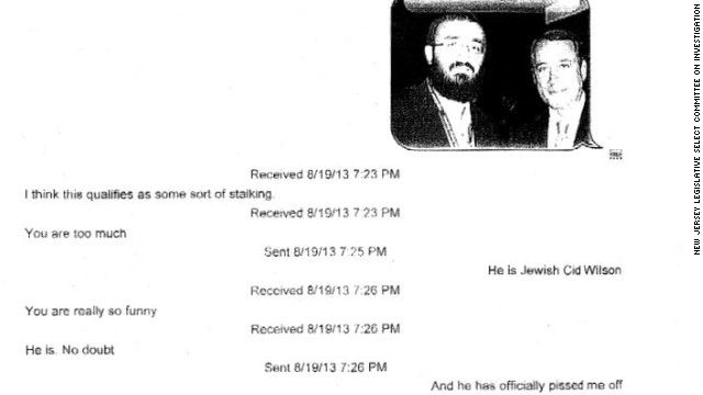 Documents: Christie appointees joke about rabbi and traffic problems