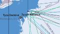 north america europe submarine cable map 2014