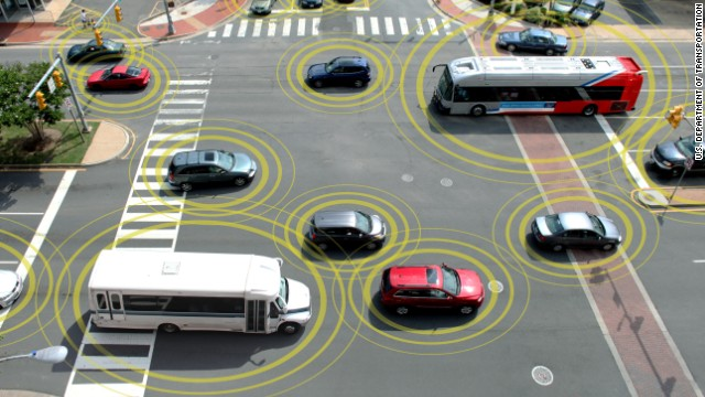 Emerging technology from several automakers promises<a href='http://www.cnn.com/interactive/2014/02/tech/cnn10-future-of-driving/' target='_blank'> vehicles that can communicate</a> with each other about weather, traffic and road conditions and, more urgently, warn each other when a wreck is imminent.