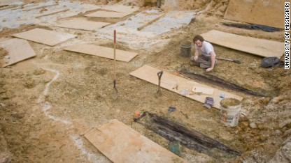 What's behind 2,000 unmarked graves?