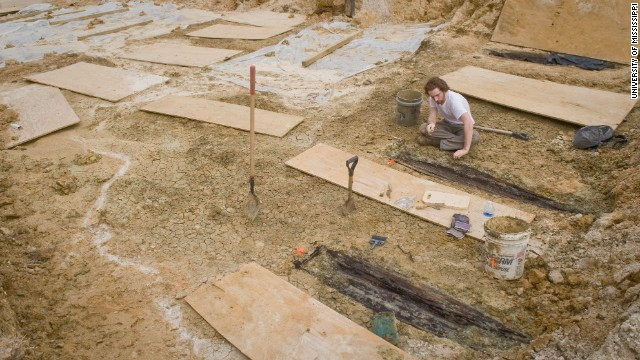 An estimated 2,000 unmarked graves were uncovered at the University of Mississippi Medical Center in Jackson.