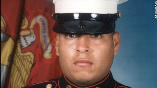 Marines in Sgt. Rafael Peralta's unit said they saw him pick up a grenade and hold it to his body.