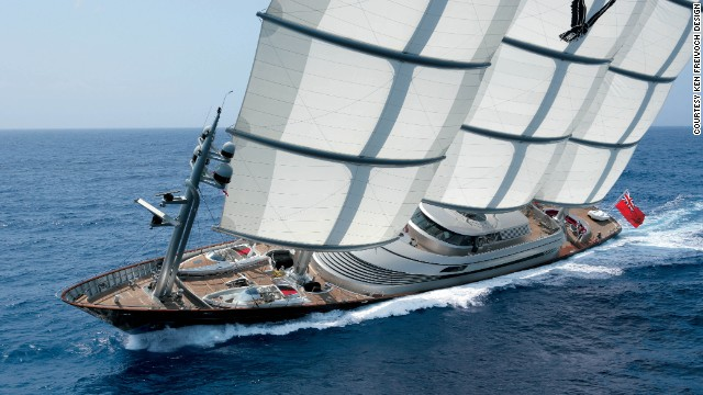 Freivokh has been designing yachts for more than three decades and says he has noticed a change in the type of individuals investing in his company's services in recent years.
