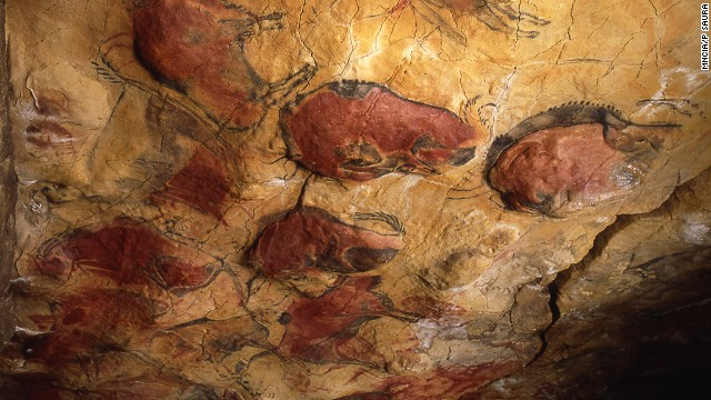 The paleolithic cave paintings of Altamira were at first dismissed as forgeries.