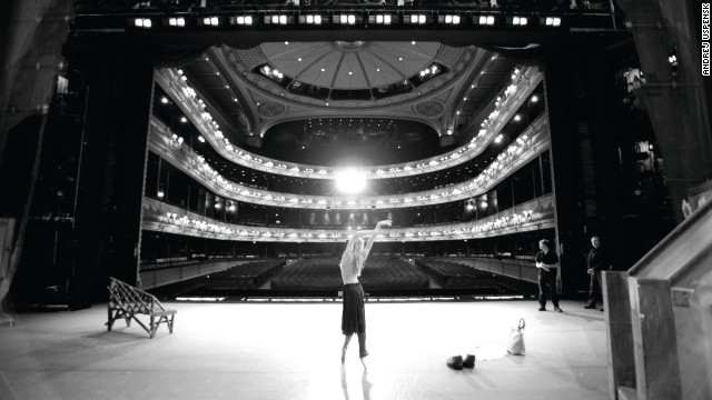 Royal Ballet dancer <strong>Andrej Uspenski</strong> took a series of candid photographs from his unique position behind the curtain, here collected into<i> </i><i><a href='http://oberonbooks.com/dancers' target='_blank'>Dancers: Behind the Scenes with The Royal Ballet</a></i><i>. </i>