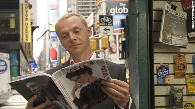 "The 2008 film ""How to Lose Friends & Alienate People"" stars Simon Pegg."