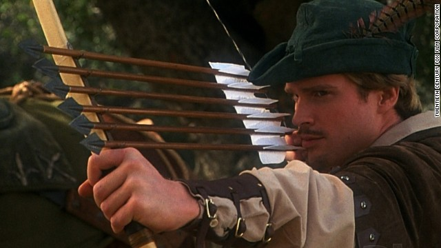 """Robin Hood: Men in Tights"" starring Cary Elwes in 1993 is a bit of a spoofy romp."