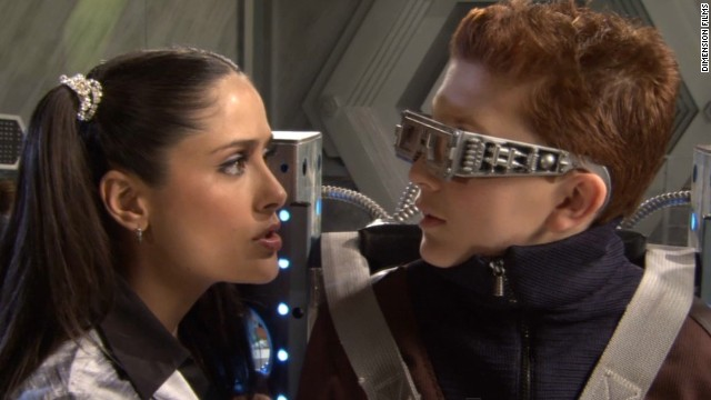 "Daryl Sabara and Alexa PenaVega return in their original roles in the sequel ""Spy Kids 3-D: Game Over,"" from 2003 (click the arrow to continue with the gallery)."