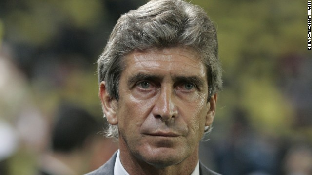 Manchester City manager Manuel Pellegrini received a three-game ban from UEFA for criticizing a referee.