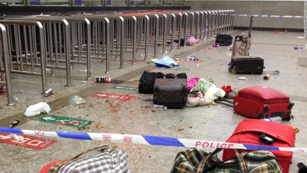 Mortal ataque en estación de China