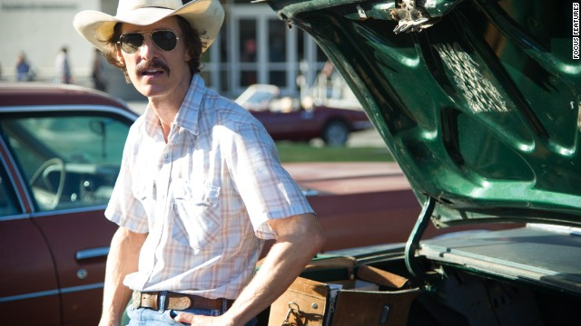 "Best actor: Matthew McConaughey, ""Dallas Buyers Club"""