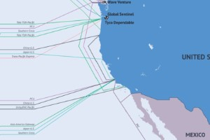 Internet: una red de cables submarinos