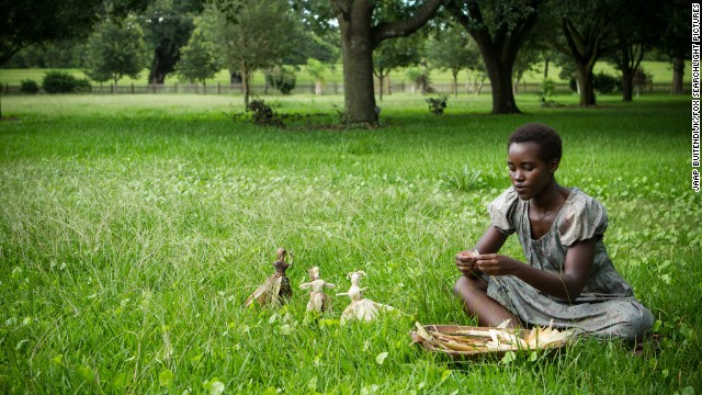 "Best supporting actress: Lupita Nyong'o, ""12 Years a Slave"""